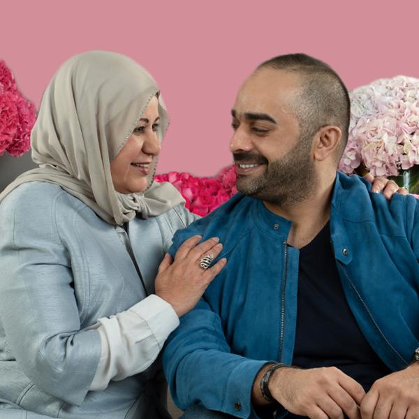 حمد ووالدته